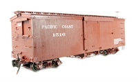 "American Box Car  in ""Pacific Coast"" Livery"