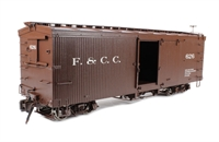 Box Car with Murphy Roof - Florence & Cripple Creek.