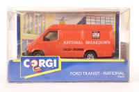 National Breakdown Ford Transit Van 91642 1:43 Scale - Pre-owned - imperfect box