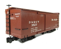 "Box Car ""D & RGW"""