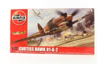 Curtis Hawk 81-A-2 (not P40B) with USAF 'Flying Tigers' marking transfers. - Pre-owned - Like new - Factory sealed