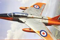 Folland Gnat T.1 Jet trainer with RAF marking transfers - Pre-owned - Like new