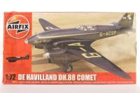 De Havilland Comet Racer with 3 MacRobertson Trophy  marking transfers - Pre-owned - imperfect box