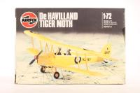 De Havilland Tiger Moth with RAF marking transfers - Pre-owned - imperfect box