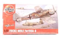 Focke Wulf Fw190A-8 fighter - New Tool for 2013 - Pre-owned - imperfect box