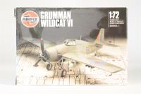 Grumman Wildcat VI - Pre-owned - some parts separated from the grid - Transfers not useable