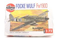 Focke Wulf Fw190D with Luftwaffe marking transfers - Pre-owned - Like new - Factory sealed