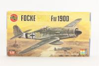 Focke Wulf Fw190D with Luftwaffe marking transfers - Pre-owned - imperfect box