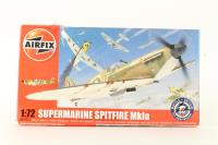 Supermarine Spitfire MkIa with RAF marking transfers. - Pre-owned - imperfect box