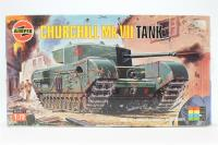 Churchill MkVII tank with British Army marking transfers - Pre-owned - Like new