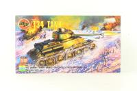 T34-85 tank with Russian marking transfers - Pre-owned - Like new