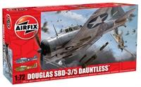 Douglas Dauntless SBD 3/5 with US Navy marking transfers.