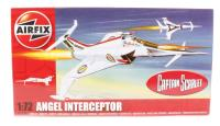 Angel Interceptor from Captain Scarlet with Angel marking transfers