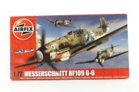 Messerschmitt Bf109G-6 with Luftwaffe, Finnish Air Force and Italian Air Force marking transfers - Pre-owned - Like new