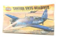 Curtiss SB2C Helldiver with US Navy and Aeronavele marking transfers - Pre-owned - Like new