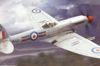 Supermarine Spitfire F22 with RAF marking transfers - Pre-owned - Poor box