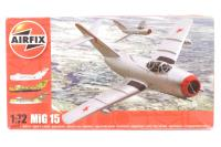 Mikoyan-Gurevich MIG 15 with USSR Air Force, Peoples Republic of China AF and Hungarian AF marking transfers - Pre-owned - Like new