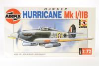 Hawker Hurricane Mk I/IIB - Pre-owned - parts loose in box