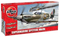 Supermarine Spitfire MkVb with RAF marking transfers