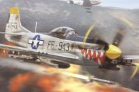 North American F-51 Mustang With USAAF and Dominican Republic AF marking transfers - Pre-owned - Like new