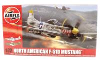 North American F-51 Mustang With USAAF and Dominican Republic AF marking transfers