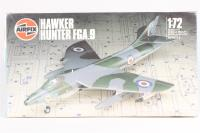 Hawker Hunter FGA.9 - Pre-owned - some parts detached from sprues, but kit appears to be complete