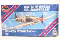 Hawker Hurricane/Sea Hurricane MkIIc with RAF, RNAS and RAF South East Asia marking transfers - Pre-owned - imperfect box