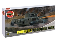 Churchill MkVII Crocodile flamethrower tank with British 34th Armoured division marking transfers