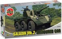 Saladin MkII Armoured Car with British Army marking transfers