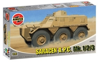 Saracen APC Mk 1/2/3 with British Army marking transfers.