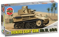 Vickers MkVI Light Tank with 3 British Army marking transfers
