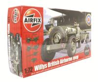 Willys Jeep, Trailer & 6pdr Gun