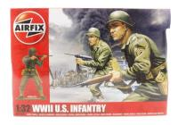 WWII US Infantry in assorted poses (14)