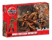 WWII Russian Infantry in assorted poses (14)