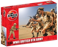 WWII British 8th Army in assorted poses (14)