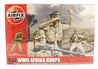 WWII Africa Korps in assorted poses (14).