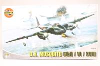 Mosquito FBVI/ NF II/Mk XVIII with RAF and RAAF marking transfers - Pre-owned - Like new - Factory sealed