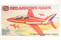 Red Arrows Hawk - Pre-owned - Includes Red Arrows Gnat (A01036) in box - imperfect box