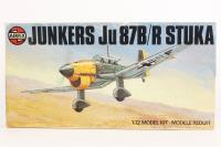 Junkers Ju87-B with Luftwaffe & Italian Air Force marking transfers - Pre-owned - Like new