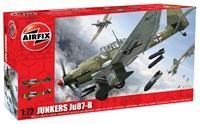 Junkers Ju87-B with Luftwaffe & Italian Air Force marking transfers