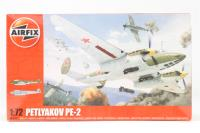 Petlyakov Pe2 with Russian Air Force and Czech Air Force marking transfers - Pre-owned - Like new