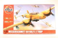 Messerschmitt Bf110E with Luftwaffe marking transfers - Pre-owned - Like new