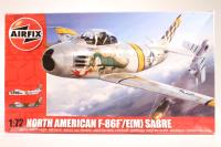 North American F-86F Sabre with USAF and Italian Air Force marking transfers - Pre-owned - Like new