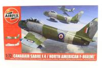 Canadair F-86 Mk4 Sabre with RAF and Yugoslav Air Force marking transfers - Pre-owned - Like new