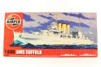 HMS Suffolk with Royal Navy marking transfers - Pre-owned - Like new - Factory sealed