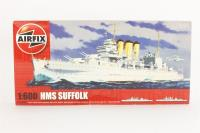 HMS Suffolk with Royal Navy marking transfers - Pre-owned - Like new