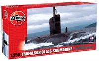 Trafalgar Class Submarine with Royal Navy marking transfers