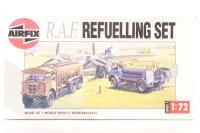 RAF Refuelling Set with Bedford QL & AEC Matador tankers with RAF marking transfers - Pre-owned - parts loose in box