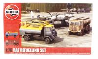 RAF Refuelling Set with Bedford QL & AEC Matador tankers with RAF marking transfers