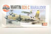 Martin B26 B/C Marauder - Pre-owned - some parts detached from sprues, but kit appears to be complete